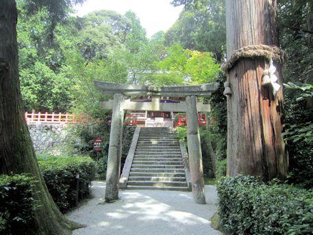高鴨神社の鳥居