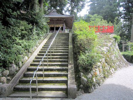 高鴨神社石段