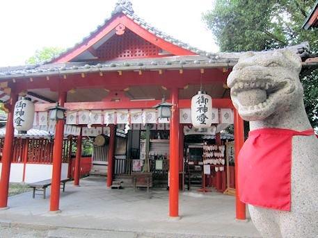 源九郎稲荷神社の狛狐