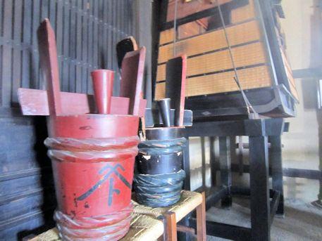 河合家住宅の酒樽