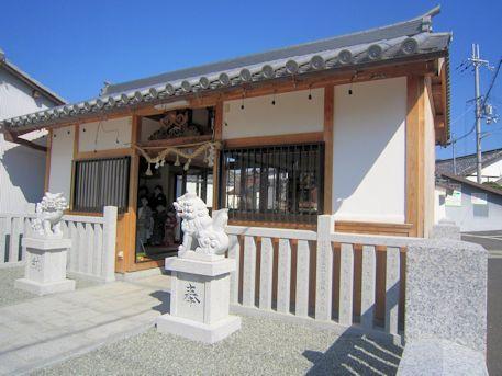 土佐恵比須神社拝殿