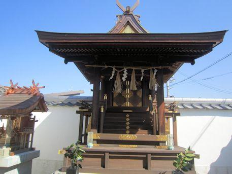 土佐恵比須神社本殿