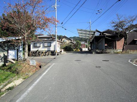 竹之内環濠集落の入口