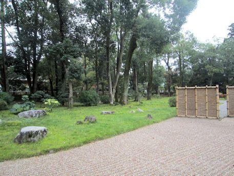 文華殿の庭