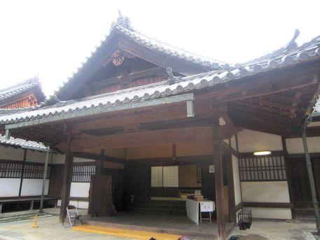 文華殿の玄関口