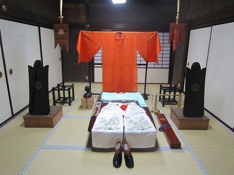 久米舞の衣装