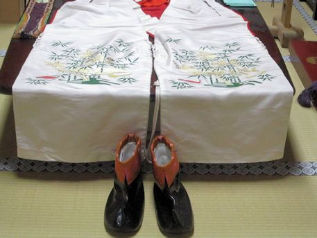 久米舞の靴