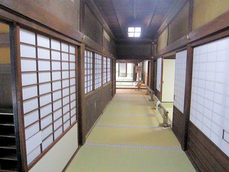 文華殿の廊下
