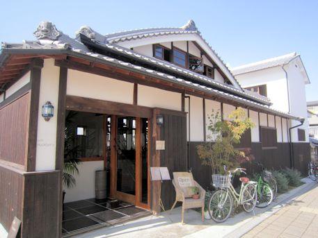 今井町のカフェ