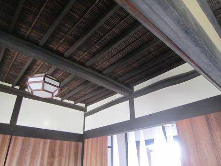 旧米谷家住宅の天井