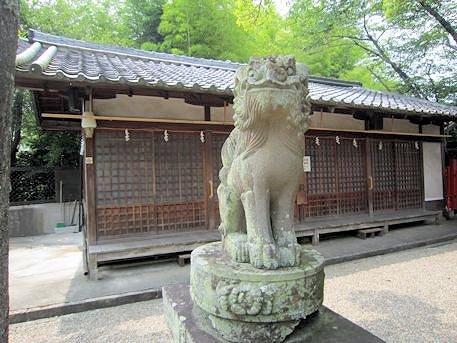 天神社の狛犬
