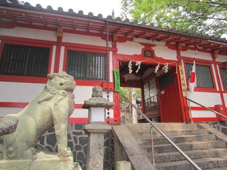 天神社の割拝殿