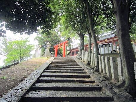 天神社の石段