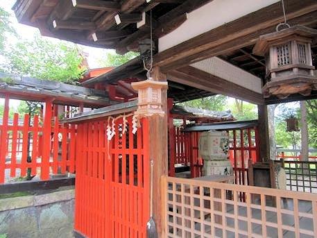 天神社の釣灯籠