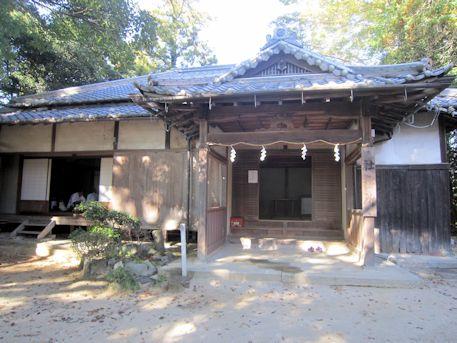 夜都伎神社社務所
