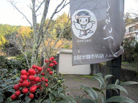 ひみこちゃんの幟旗