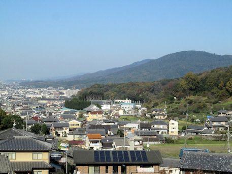 三輪山の景色