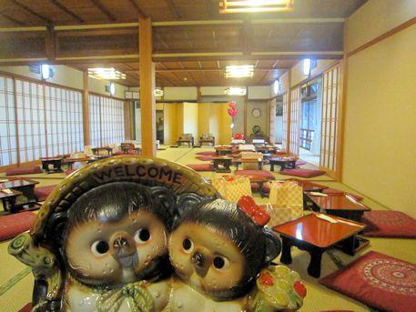 タヌキ夫婦のウェルカムボード