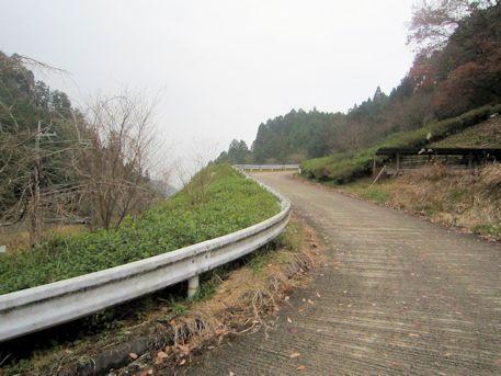 天一神社のアクセス道