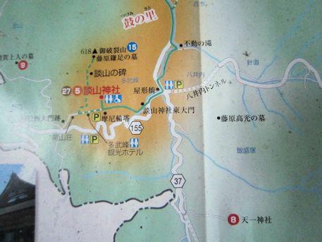 天一神社の周辺地図