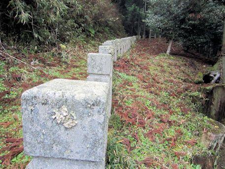 天一神社の瑞垣
