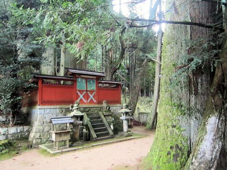 桜井市鹿路の天一神社