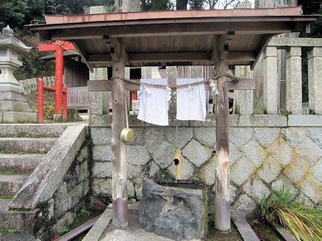 天一神社の手水舎