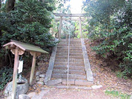 高家春日神社の鳥居