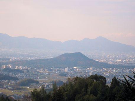 高家春日神社の眺望