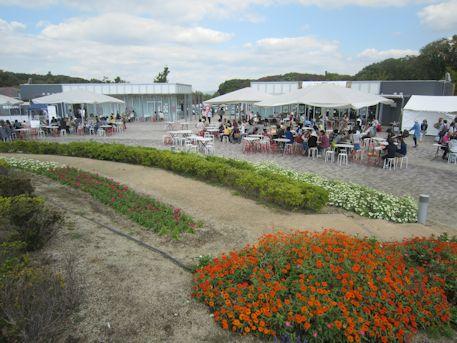 馬見丘陵公園の花見茶屋