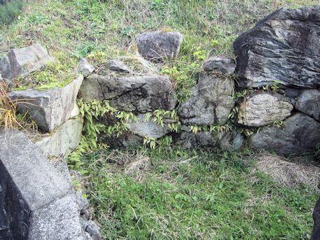 平野古墳のコンクリート部