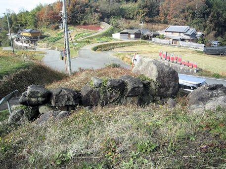 平野古墳と八釣方面