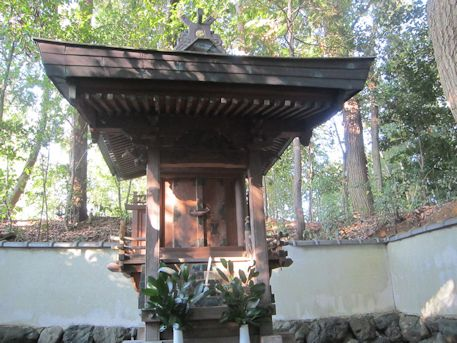 石寸山口神社本殿