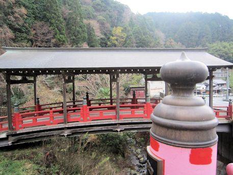擬宝珠と屋形橋