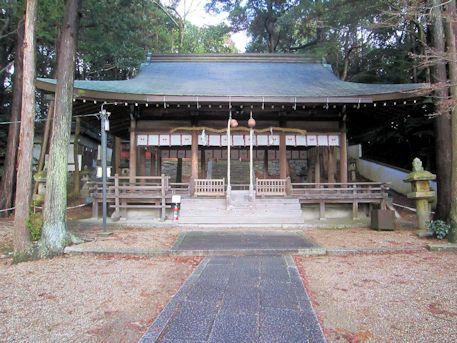 矢田坐久志玉比古神社拝殿
