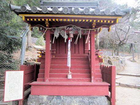 飯道神社の祠
