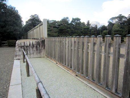 神武天皇陵の瑞垣