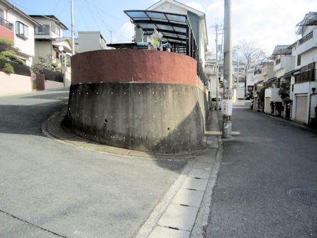 赤土山古墳のアクセスポイント