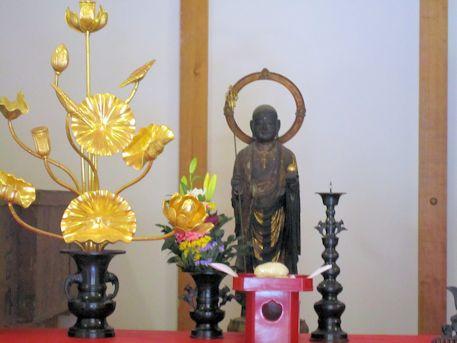 竹林寺の地蔵菩薩立像
