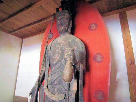 竹林寺の十一面観音立像