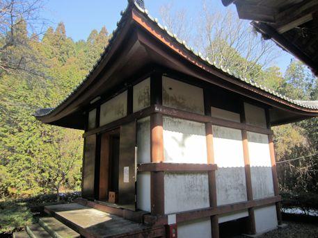 竹林寺のお堂