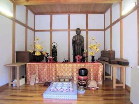 竹林寺の仏像