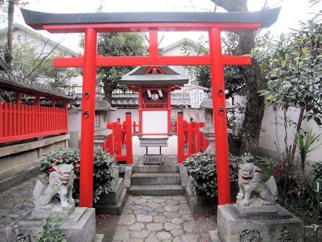 御霊神社の若宮社