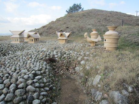 赤土山古墳の埴輪