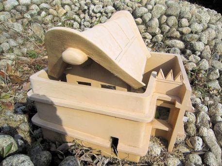 赤土山古墳の囲形埴輪