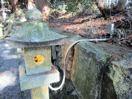 表参道の石燈籠
