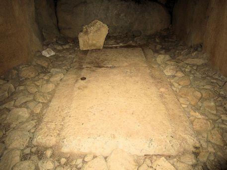 越塚古墳の石棺断片