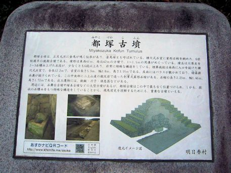 都塚古墳の解説パネル