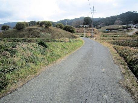 都塚古墳の墳丘