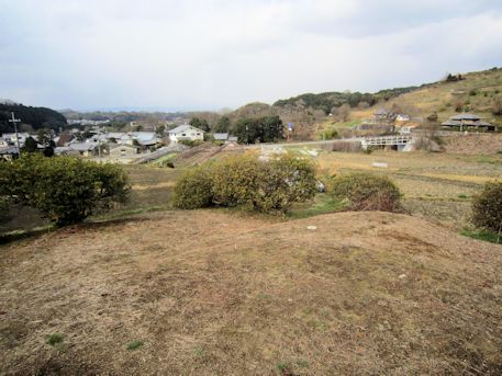 都塚古墳墳頂からの眺め